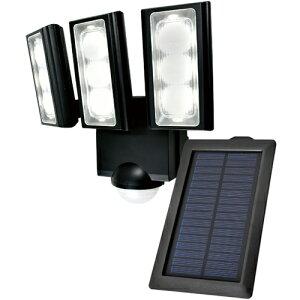 エルパ LEDセンサーライト ソーラー発電式 3灯 ESL-313SL