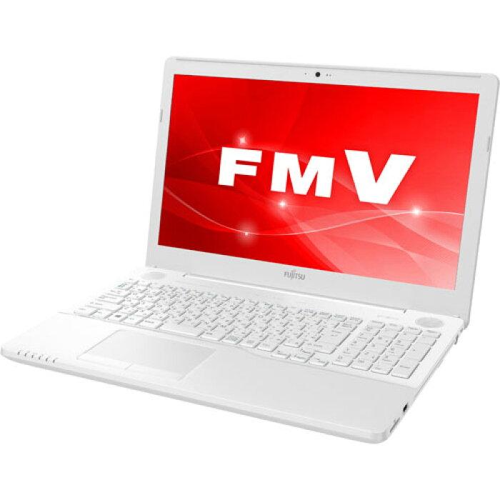 富士通FMVA51C3W2(プレミアムホワイト)_LIFEBOOK_AHシリーズ_15.6型液晶