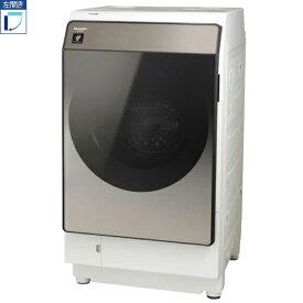 【標準設置料金込】【送料無料】シャープ SHARP ES-WS13-TL(ブラウン系) 洗濯乾燥機 左開き 洗濯11kg/乾燥6kg ESWS13TL[代引・リボ・分割・ボーナス払い不可]
