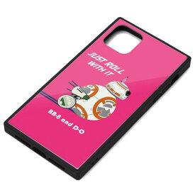 PGA PG-DGT19C33BB(BB-8) iPhone 11 Pro Max用 ガラスハイブリッドケース STAR WARS