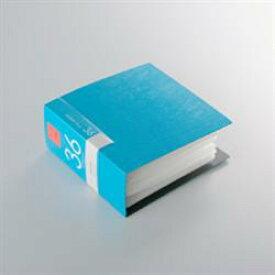 バッファロー BSCD01F36BL(ブルー) CD/DVDファイルケース ブックタイプ 36枚収納