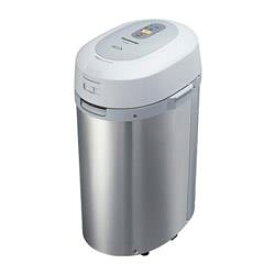 【長期保証付】パナソニック(Panasonic) 家庭用生ごみ処理機(シルバー)MS-N53-S 温風乾燥式/屋内外設置タイプ