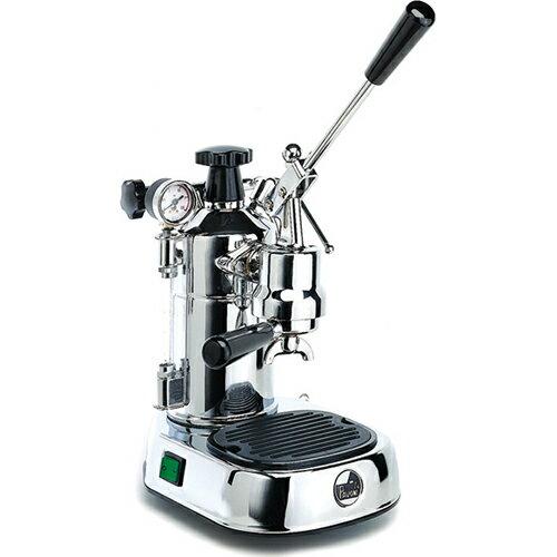 【長期保証付】ラ・パボーニ PLHレーニョ(シルバー) エスプレッソコーヒーマシン プロフェッショナル ステンレス&ウッド