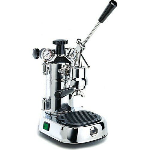 ラ・パボーニ PLルッソ(シルバー) エスプレッソコーヒーマシン プロフェッショナル ステンレス&樹脂
