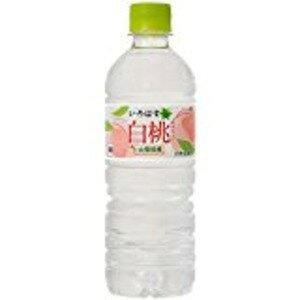 【まとめ買い】コカ・コーラ い・ろ・は・す(いろはす/I LOHAS) 白桃 555ml ペットボトル×24本(1ケース)