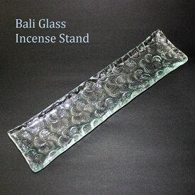 ガラスのインセンススタンド(プルメリア)