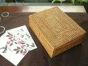 アタ製長方形ボックス【幅20cm】★ジュエリーやポストカードケースに♪