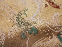 鯉(桑染め)・生地の風合い
