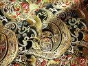 京西陣・金襴 生地 変わりのし文(金らん 生地 金襴布 和柄生地 和柄 和風 よさこい 衣装 布 はぎれ 手芸 インテリア)05P01Oct16