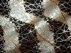 京都西陣織錦面料露草到櫻花路長度 (黑) / mekari / 日本面料 / 日本花紋織物 / 日本模式和日本 /fs3gm ★ 廚房點起節日 ★ 10215