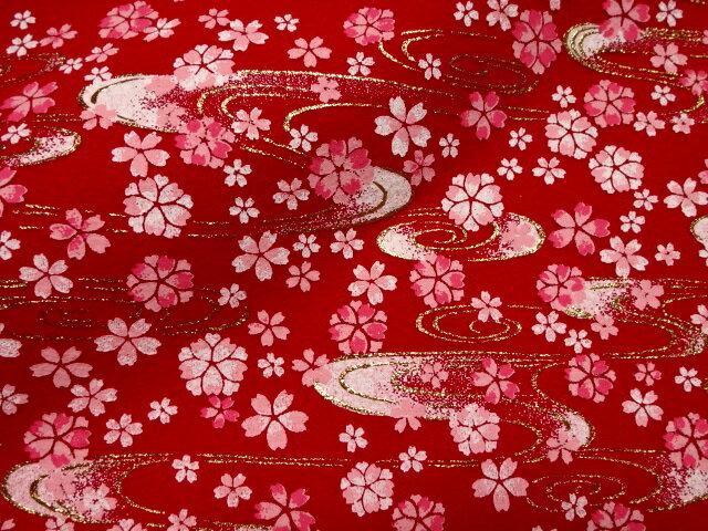 毛氈 (もうせん) 水面桜 幅90cm×長さ90cm