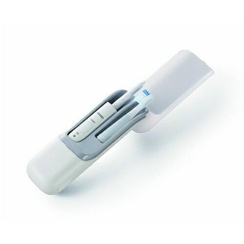 オムロン 音波電動歯ブラシ メディクリーンPORTABLE ホワイト HT-B601-W OMRON