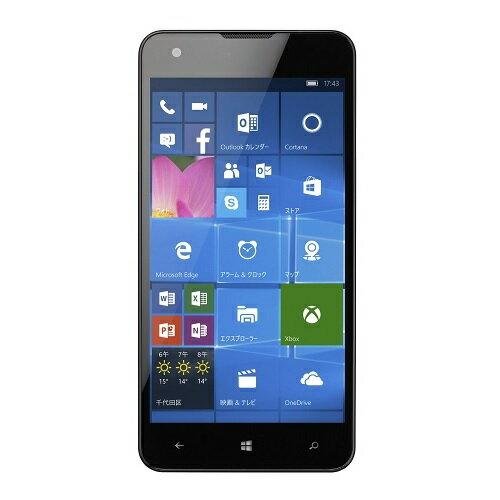 スマートフォン マウスコンピューター SimフリーWindowsPhone (Simフリー/Windows10 Mobile/5inch/MicroSD16GB同梱/保護シート付) MADOSMA Q501A-WH スマホ