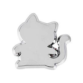 Catland 猫型 エンブレム おしゃれ 車用 ステッカー 猫 ねこ かわいい にゃんにゃん かっこいい プレートステッカー カーステッカー