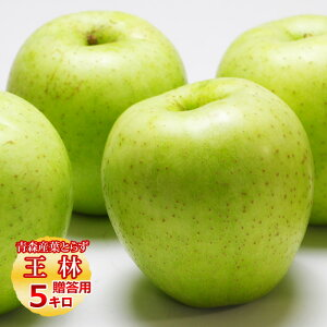 送料無料 葉とらず 王林【贈答用】約5kg(14〜18個前後) ※青森産、直送、りんご、リンゴ、林檎、サンふじ