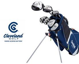 クリーブランド/CleveLand ジュニア用7本ゴルフクラブセットキャディバッグ付