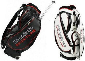 有新秀丽体育实验室(Samsonite SPORTLAB)解说员的高尔夫球场服务员包SNCB-103