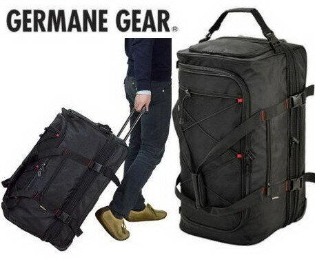 GERMANE GEAR/ジャーメインギア トロリーボストン2室式 トラベルバッグ 15177