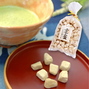 和三盆《霰三盆》100g 冨士屋/干菓子/砂糖/お茶請け/徳島名産 プチギフト 内祝い
