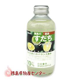 すだちdeシャッキリ ミニ180ml(ストレートジュース飲料)※箱なし