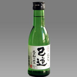 純米酒 己道(こどう)180ml【徳島の地酒】※カートン(箱)なし