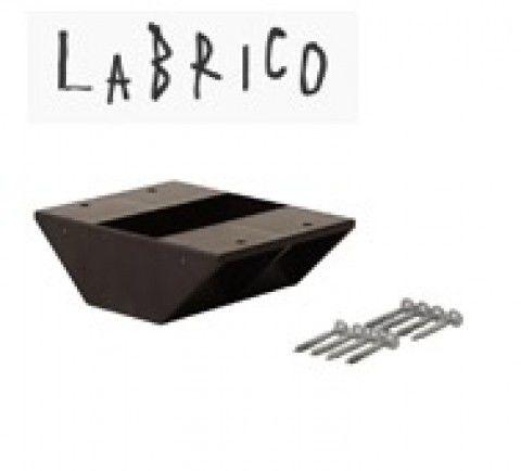 LABRICO ラブリコ 2×4棚受 ダブル DXB-3 ブロンズ