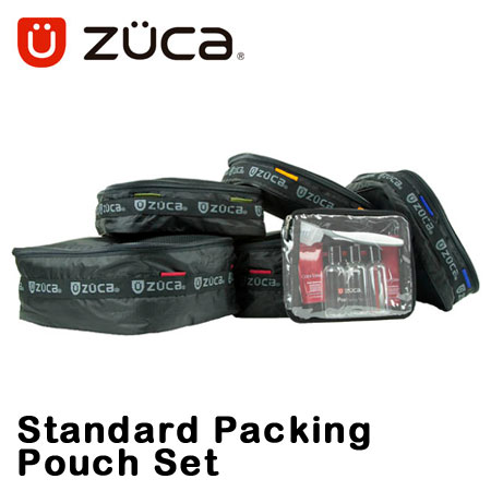 ズーカ スタンダードパッキングポーチセット メンズ レディース Standard Packing Pouch Set 600012 ZUCA 【ZUCA PRO/ZUCA SPORT収納可能】【ポーチ6個セット】[bef][即日発送]