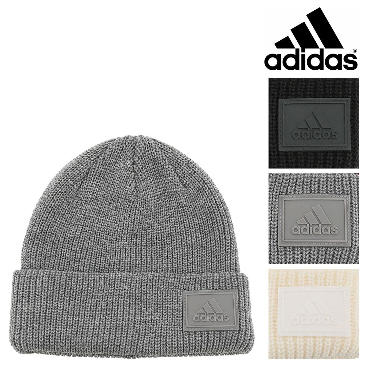 アディダス ニット帽 パッチワッチ メンズ レディース 188111802 adidas |帽子 ビーニー ニットキャップ[即日発送]