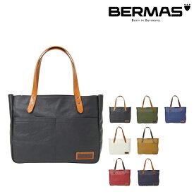 バーマス トートバッグ A4 コミュート メンズ レディース 60456 日本製 BERMAS | 横型 帆布PVCワッシャー [PO10][bef]