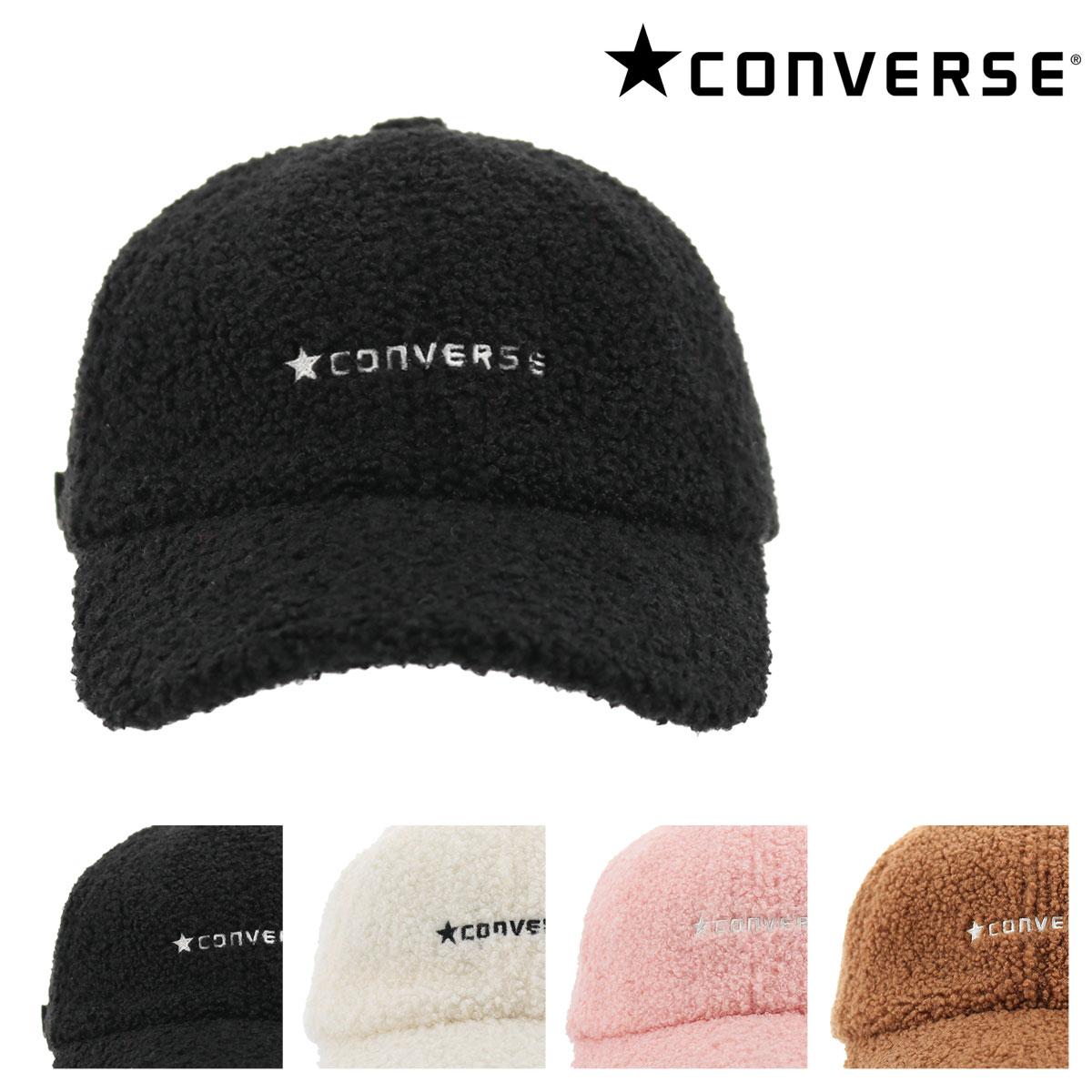 コンバース キャップ ボア レディース 188312801 CONVERSE | 帽子 ローキャップ サイズ調節可能 [bef][即日発送]