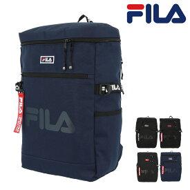 フィラ リュック スクエア A4 21L コード メンズ レディース 7585 FILA   リュックサック デイパック バックパック 撥水 軽量