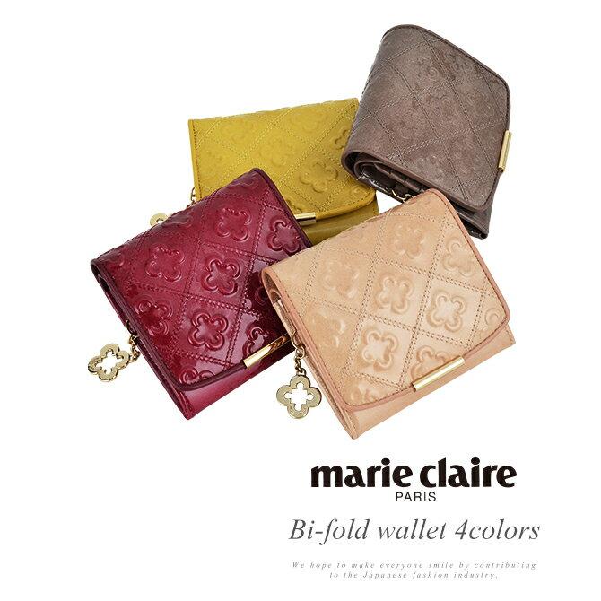 マリクレール 財布 marie claire Supple vivi シュプールヴィヴィ 二つ折り財布 BOX型小銭入れ レディース 牛革 MC88590【送料無料】