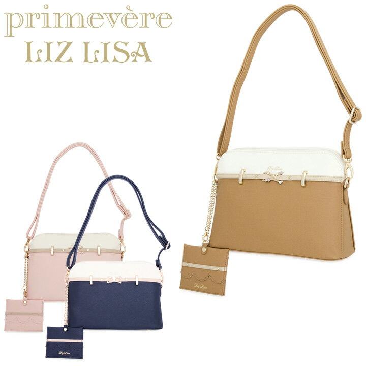 リズリサ Primevere LIZ LISA ショルダーバッグ 87652 ティー 【 パスケース付 2WAY クラッチバッグ リボン レディース 】【即日発送】