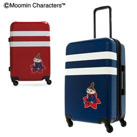 ムーミン ミイ スーツケース かわいい|49L/57L 56cm 3.9kg MM2-012|拡張 1年保証 ハード ファスナー|TSAロック搭載 キャラクター [bef][PO10][即日発送]