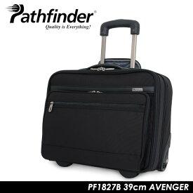 パスファインダー ビジネスキャリー 2輪 横型 アベンジャー|機内持ち込み 20L 39cm 3.2kg PF1827B|ソフト ファスナー|TSAロック ポケット付き 出張 ビジネスバッグ [bef][PO10]