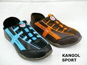 KANGOLSPORTカンゴールスポーツレディースクロッグシューズクロッグスニーカーキックバック