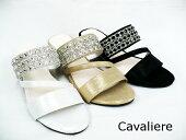 CavaLiereキャバリエ6534レディースミュールサンダルウエッジソール5cmヒール