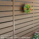 【ディーズフェンス/アルファウッド横張りタイプ】サイズ:幅120mm【フェンス ディーズ 樹脂製 木目調】