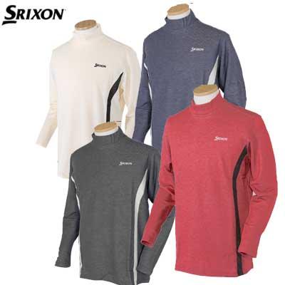 スリクソン ゴルフハイネックシャツ 吸湿発熱長袖シャツ SMP5433 ダンロップ 大きいサイズ M〜3Lサイズ SRIXON 【ゴルフウェア】【大きいサイズ】【メンズウェア】
