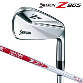スリクソン Z965アイアンセット 6本(#5-9、PW) N.S.PRO MODUS3 SYSTEM3 TOUR120 スチールシャフト SRIXON ダンロップ日本正規品