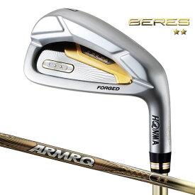 HONMA 本間ゴルフ BERES アイアンセット6本組(6番〜11番) ベレス New ARMRQ 47 2Starシャフト(2019年モデル)
