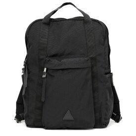 ANONYM CRAFTSMAN DESIGN 12H DAYPACK 66Hybrid生地 メンズ レディース リュックサック ブラック 黒 黒色 ブランド デイパック バックパック 日本製 アノニムクラフツマンデザイン