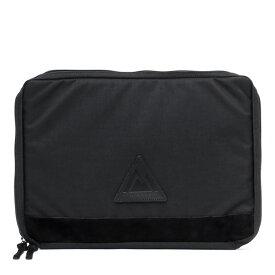 ANONYM CRAFTSMAN DESIGN セルスパンナイロンドキュメントケース クラッチバッグ ブラック 黒 黒色 13インチ ノート パソコン PC A4 メンズ レディース バッグインバッグ ビジネス