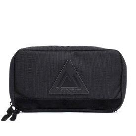 ANONYM CRAFTSMAN DESIGN セルスパンナイロン トリップケース クラッチバッグ ブラック 黒 黒色 バッグインバッグ メンズ レディース 日本製 ブランド ナイロン おしゃれ 可愛い パスポートケース パスポート 高級 大人 旅行