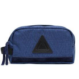 ANONYM CRAFTSMAN DESIGN セルスパンナイロン バッグインバッグ ポーチ ブルー ネイビー 青色 小物入れ 小さめ メンズ レディース リュック 整理 軽い 日本製 ブランド ナイロン おしゃれ 可愛い