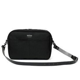 ショルダーバッグ メンズ 本革 レザー ブラック 黒 黒色 レディース バリスティックナイロン 日本製 カバン 鞄 ブランド ワンダーバゲージ(WONDER BAGGAGE)