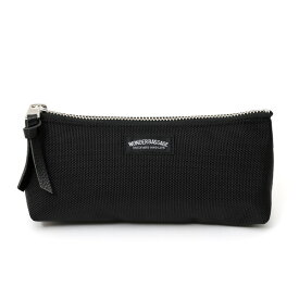 筆箱 ペンケース ブラック 黒 黒色 おしゃれ シンプル かわいい 大容量 女子 メンズ レディース 日本製 ブランド ワンダーバゲージ