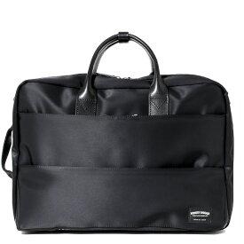 ビジネスバッグ 3WAY ブリーフケース バックパック ショルダー リュック メンズ レディース ブラック 黒 黒色 ナイロン 本革 レザー 日本製 高級 A4 大容量 鞄 通勤 通学 出張 ワンダーバゲージ(WONDER BAGGAGE)