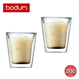 bodum(ボダム) キャンティーン 200cc ダブルウォールグラスセット(2個入) 10109-10