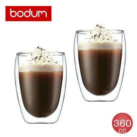 bodum(ボダム) パヴィーナ 360cc ダブルウォールグラスセット(2個入) 4559-10